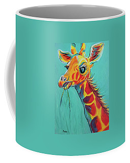 Hungry Giraffe Coffee Mug by Susan DeLain