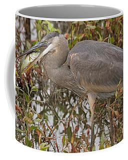 Hungry Heron Coffee Mug