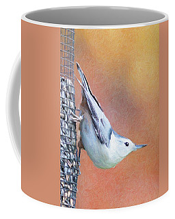 Hungry Nuthatch Coffee Mug