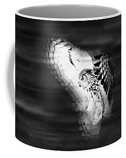 Hunter In Flight  Coffee Mug