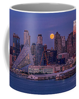 Hunter's Moon Over Ny Coffee Mug