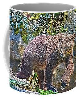 Hunting Bear Coffee Mug