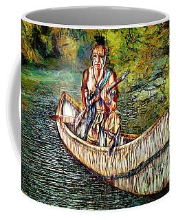 Coffee Mug featuring the digital art Hunting For Food by Pennie McCracken