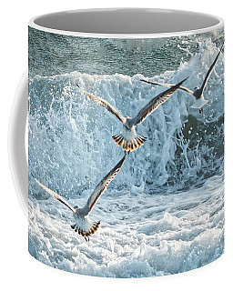 Hunting The Waves Coffee Mug