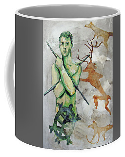 Youth Hunting Turtles Coffee Mug