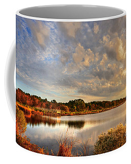 Huntington Beach At Dusk Coffee Mug
