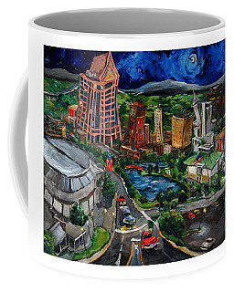Huntsville Skyline Coffee Mug by Carole Foret
