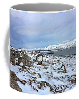 Hvalfjoerdurs Wintersun Coffee Mug