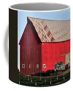 Hwy 47 Red Barn 21x21 Coffee Mug