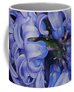 Hyacinth Curls Coffee Mug