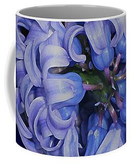 Hyacinth Curls Coffee Mug