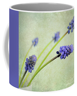Hyacinth Grape Coffee Mug by Lyn Randle