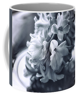 Hyacinth Plated Coffee Mug by Susan Capuano