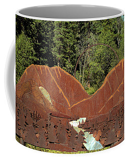 Hyalite Canyon Sculpture Coffee Mug