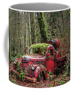Hybrid Fire Truck Coffee Mug