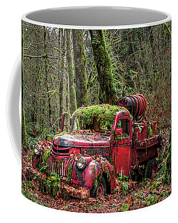 Hybrid Fire Truck Coffee Mug