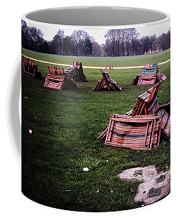 Coffee Mug featuring the photograph Hyde Park Morning by Samuel M Purvis III