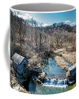 Hyde's Mill With Bald Eagle Coffee Mug