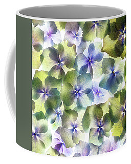 Coffee Mug featuring the photograph Hydrangae Squared by Rebecca Cozart