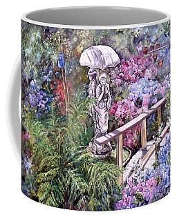 Hydrangea In The Formosa Gardens Coffee Mug