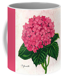 Hydrangea-perfectly Pink Coffee Mug