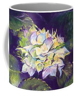 Hydrangea Coffee Mug by Rebecca Matthews