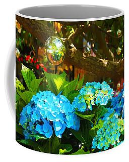 Hydrangeas At Utica Square Coffee Mug