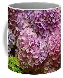 Hydrangeas Galore Coffee Mug