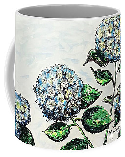 Hydrangeas Coffee Mug