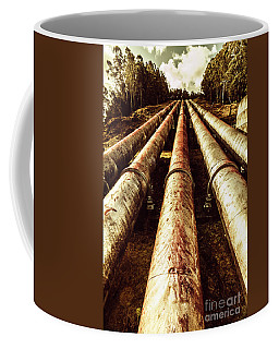 Hydroelectric Pipeline Coffee Mug