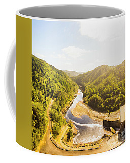 Hydropower Valley River Coffee Mug