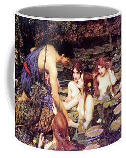 Hylas And The Nymphs Coffee Mug