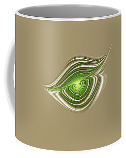 Hypnotic Eye Coffee Mug by Anastasiya Malakhova