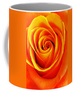 Hypnotic Orange Coffee Mug