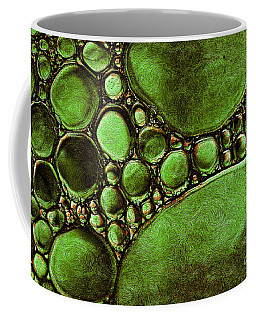 Coffee Mug featuring the mixed media Hypothetica Parasitus by Lita Kelley