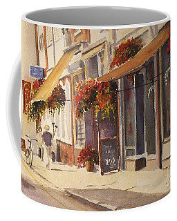 Coffee Mug featuring the painting Hythe High Street by Beatrice Cloake