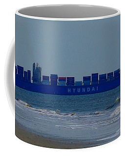 Hyundai Ship Coffee Mug
