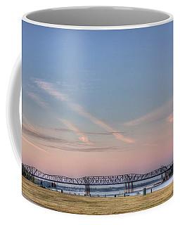 I-55 Bridge Over The Mississippi Coffee Mug