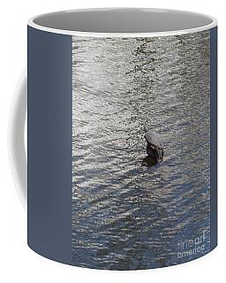 Coffee Mug featuring the photograph I Am A Rock I Am An . . . Ode To S And G  by Marie Neder