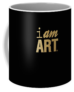 I Am Art- Gold Coffee Mug