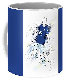 I Am Blue And White Coffee Mug