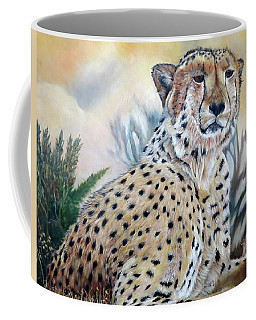 I Am Cheetah 2 Coffee Mug by Marilyn  McNish