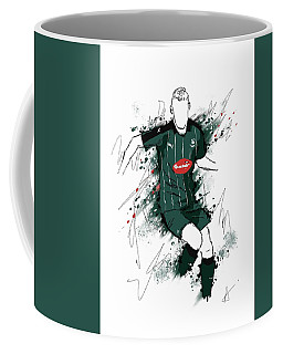 I Am Green And Black Coffee Mug