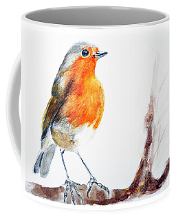 Coffee Mug featuring the painting I Am Happy by Jasna Dragun