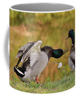 Coffee Mug featuring the photograph I Am In Charge Here by Debby Pueschel