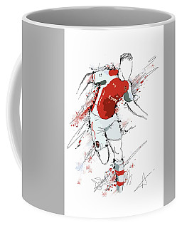 I Am Red And White Coffee Mug