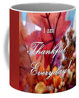 I Am Thankful # 6059 Coffee Mug