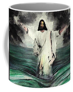 I Am Will Calm Your Sea Coffee Mug
