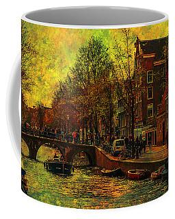 I Amsterdam. Vintage Amsterdam In Golden Light Coffee Mug