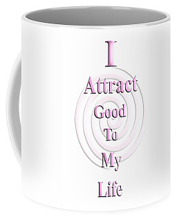 I Attract Pink Coffee Mug